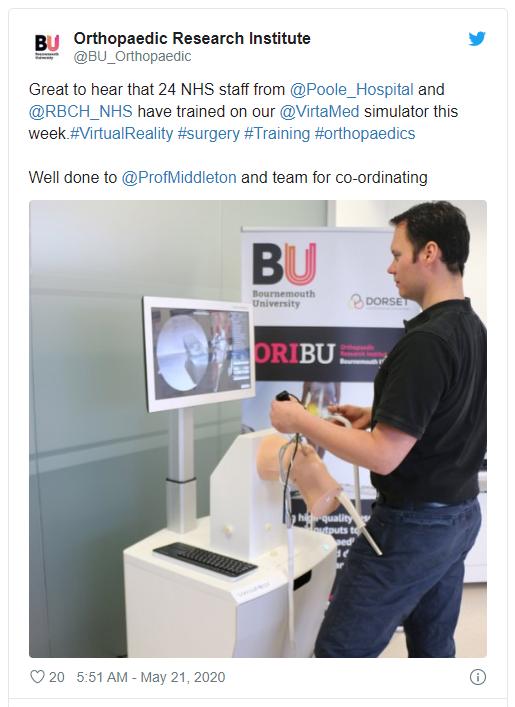 Orthopaedic Institutes Tweet